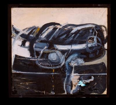 Wolf Vostell, Transmigración II, 1958, 91 x 102 x 40 cm; ZKM – Zentrum für Kunst und Medientechnologie Karlsruhe © VG Bild-Kunst, Bonn 2014/Foto: Wolf Vostell/The Wolf Vostell Estate