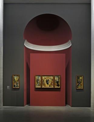 Der Wildensteiner Altar in der neuen Präsentation in der Staatsgalerie Stuttgart © Staatsgalerie Stuttgart