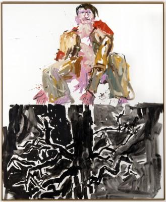 Georg Baselitz, Ein moderner Maler (Remix), 2007 Foto Kai-Annett Becker