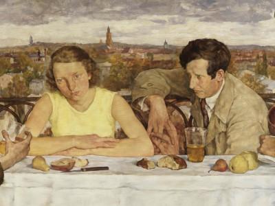 Lotte Laserstein, Abend über Potsdam, 1930 (Detail) © Nationalgalerie, Staatliche Museen zu Berlin. Foto: Roman März 2010