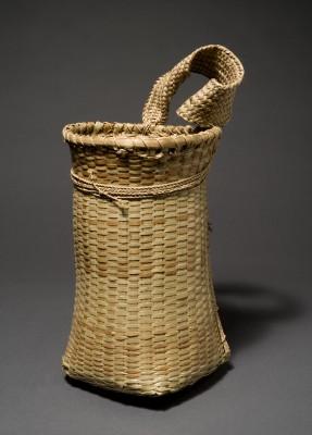 Canela, Tragekorb. Pflanzenmaterial © Staatliches Museum für Völkerkunde München; Foto: M. Weidner