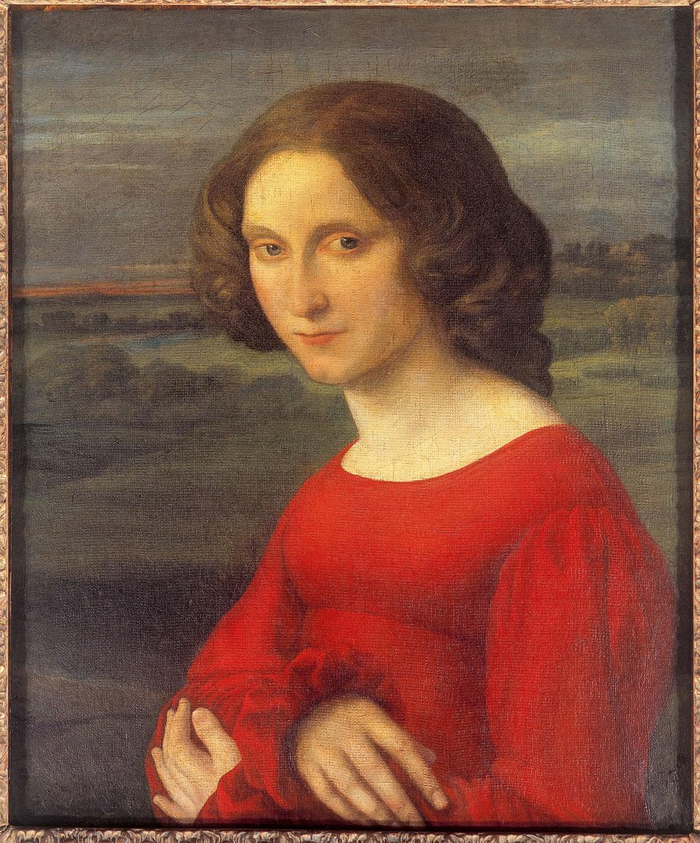 Carl Joseph Begas d.Ä., Mädchenbildnis, ca. 1821–1825, 54×45,5 cm; Begas Haus – Museum für Kunst und Regionalgeschichte Heinsberg