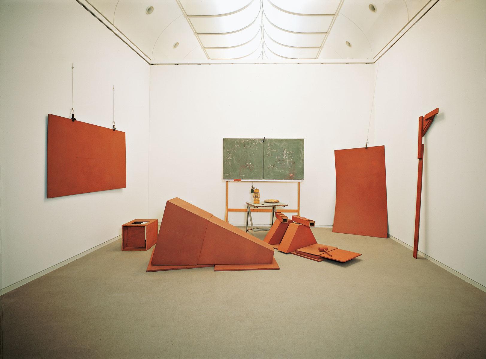 Joseph Beuys, vor dem Aufbruch aus Lager I, 1970/80, Städtische Galerie im Lenbachhaus und Kunstbau, München