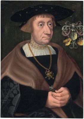 Jacob Claesz. van Utrecht, Porträt des Kaufmanns Mathias Mulich, 1522, 42,4×29,6 cm; St. Annen-Museum, Lübeck