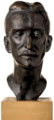 Clara Rilke-Westhoff, Bildnis Gustav Pauli, 1917, Höhe 35,5 cm; Kunsthalle Bremen