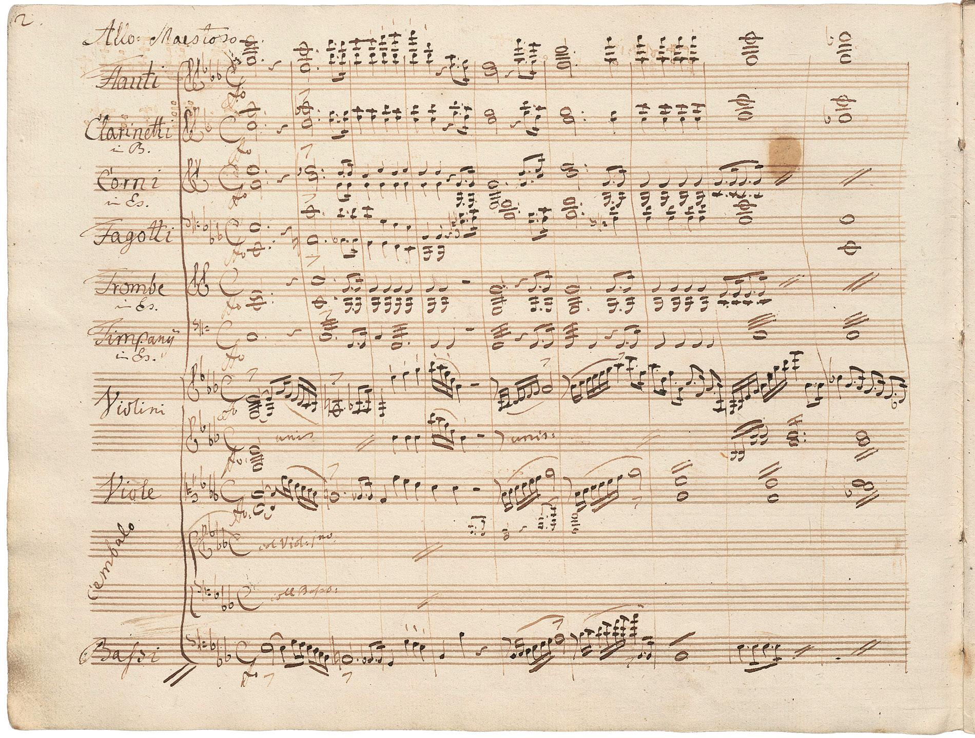 Carl Maria von Weber, Zweites Klavierkonzert Es-Dur op. 32, Seite 2; Staatsbibliothek zu Berlin