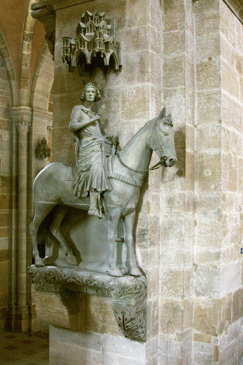 Bamberger Reiter, 1. Hälfte d. 13. Jahrhunderts; Bamberger Dom / Erzbistum Bamberg