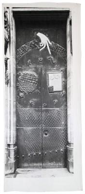 Joseph Beuys, Ohne Titel (Mein Kölner Dom), 1980; jeweils 300×124 cm; Museum Kurhaus Kleve