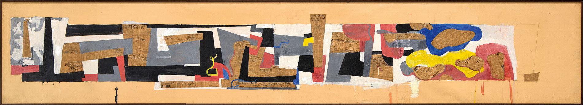 Hans Richter, Stalingrad (Sieg im Osten), 1943/46, 94×512 cm; ZKM | Zentrum für Kunst und Medientechnologie Karlsruhe