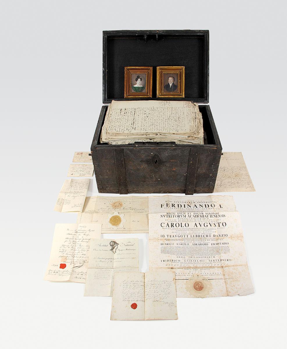 Der Nachlass Friedrich Wilhelm Sertürners; Deutsches Apotheken-Museum, Heidelberg