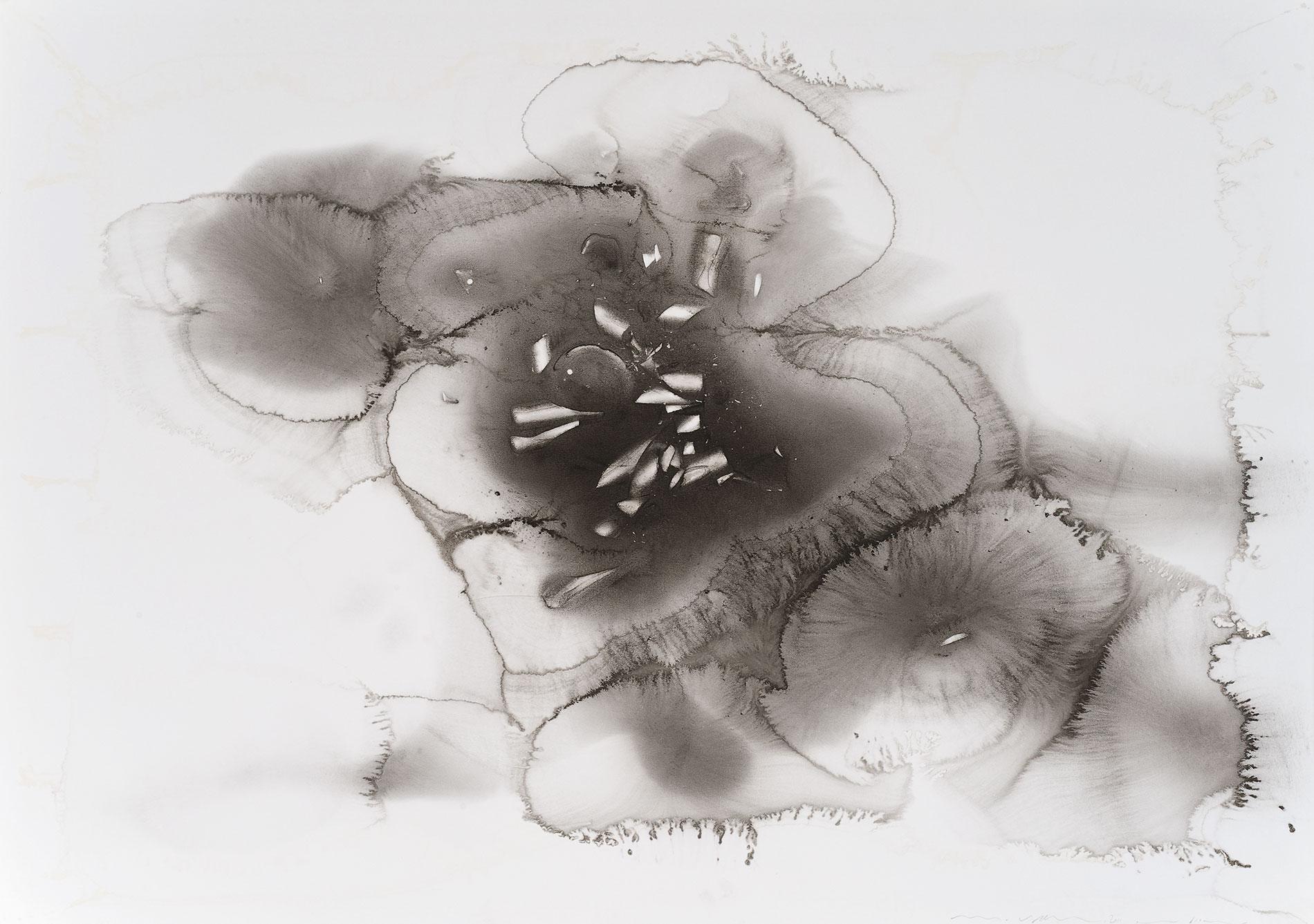 Micha Ullman, Tisch XXII , 2011, 70×100 cm; Lindenau-Museum Altenburg