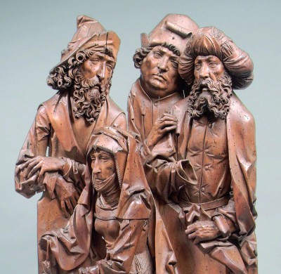 Detail Die heilige Anna und ihre drei Männer, Tilman Riemenschneider, um 1510