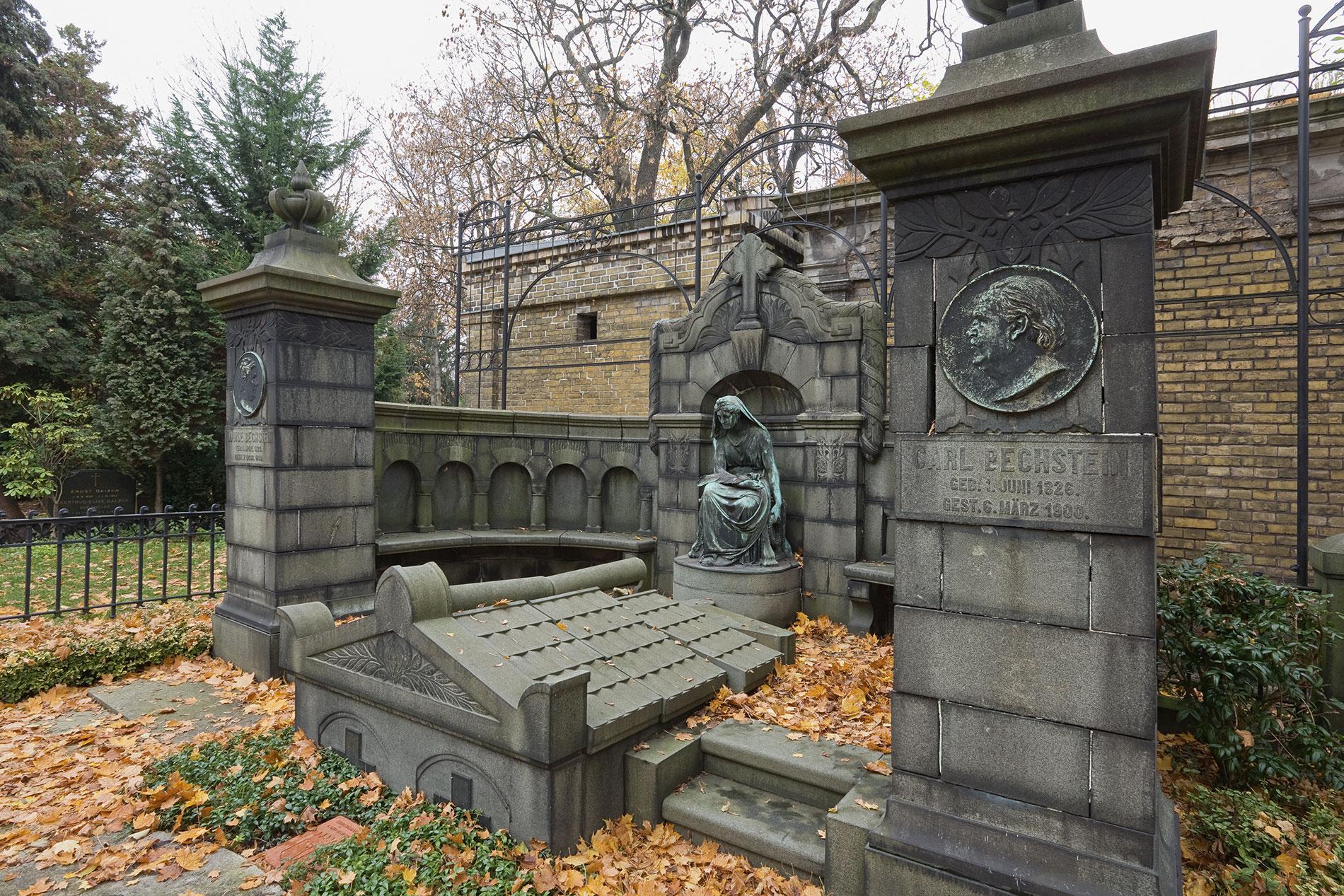 Das Erbbegräbnis Carl Bechstein; Foto: Daniela Friebel