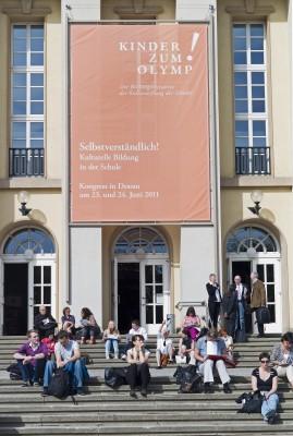 5. Kongress der Bildungsinitiative Kinder zum Olymp! im Anhaltischen Theater Dessau Foto: Sarah Keller