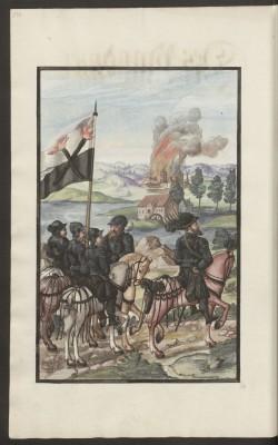 Kriegsordnung, Blatt 140, Darstellung des Brandmeisters Abb.: Staatsbibliothek zu Berlin - PK