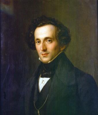 Theodor Hildebrandt, Porträt Felix Mendelssohn Bartholdy, 1834 Foto: Ch. Sandig