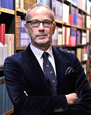Porträt Prof. Dr. Frank Druffner, kommissarischer Generalsekretär der Kulturstiftung der Länder (Foto: Chris Korner)