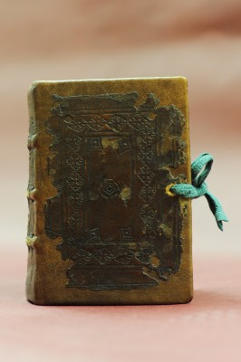 Griechisches Neues Testament, Venedig 1538 Nachdruck der Erstausgabe des Erasmus von 1516, äußerst seltenes Exemplar; Foto: Peter Grewer