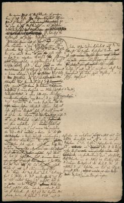 Erste Seite eines Briefentwurfs Mendelssohns an den Rat der Stadt Leipzig, entstanden zwischen 1838 und 1840. Foto: SML