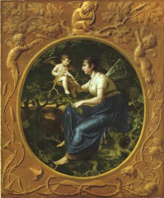 Philipp Otto Runge (1777-1810), Die Lehrstunde der Nachtigall (Zweite Fassung), 1804 © Hamburger Kunsthalle/bpk, Photo: Elke Walford