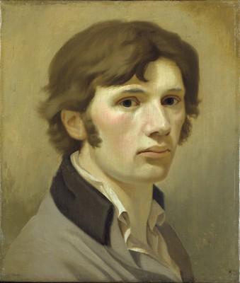 Philipp Otto Runge (1777-1810), Selbstbildnis mit braunem Kragen, 1802 © Hamburger Kunsthalle/bpk, Photo: Elke Walford
