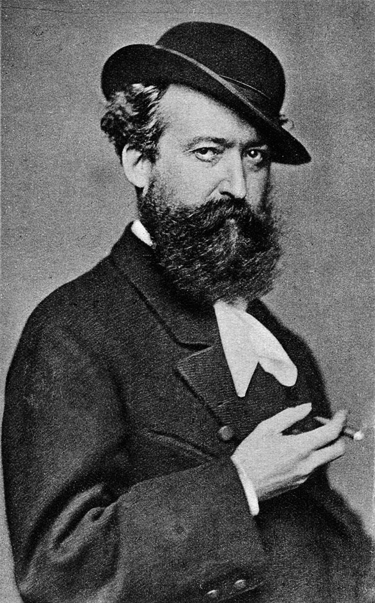 Wilhelm Busch um 1872