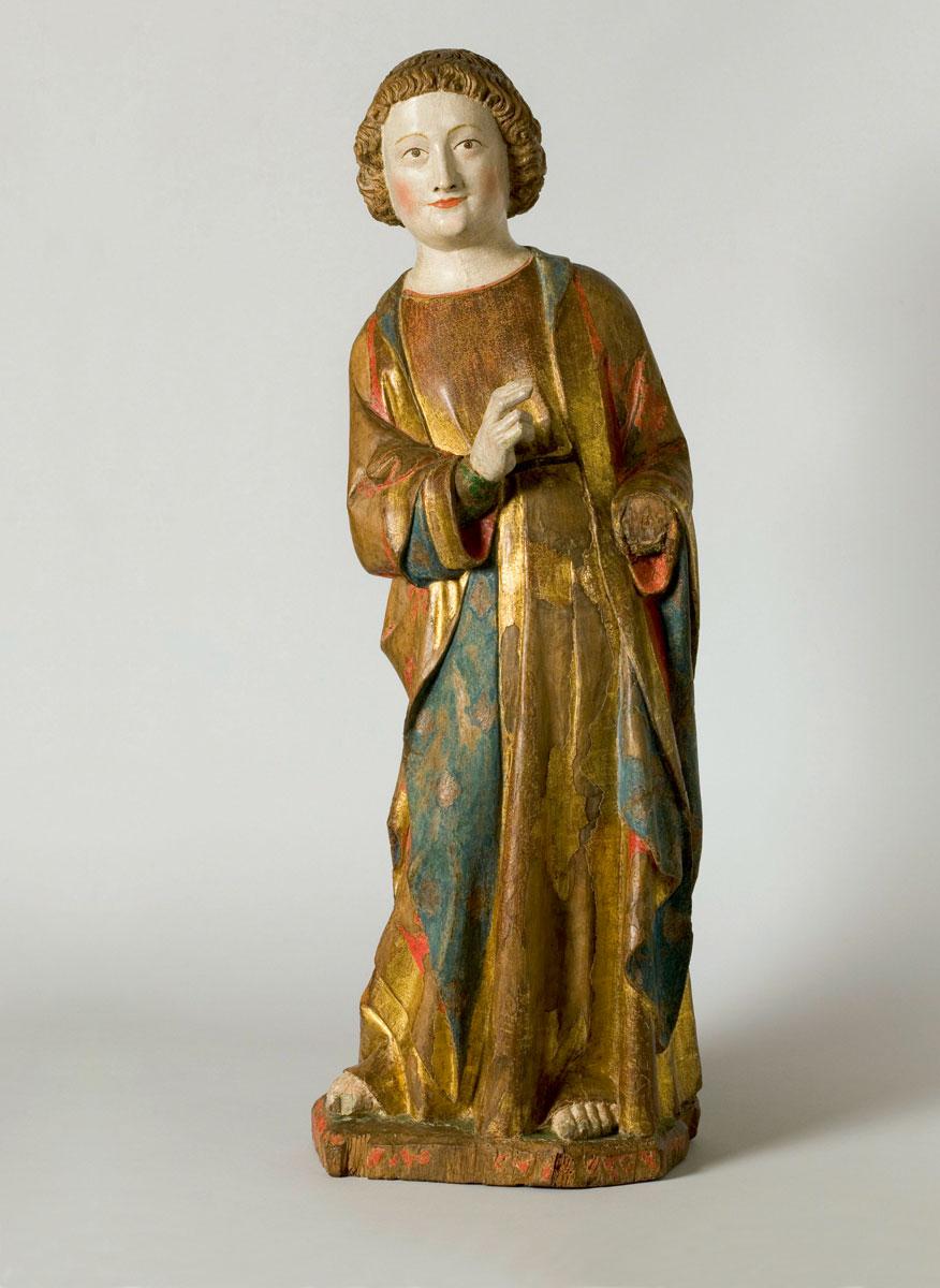 Hl. Johannes, um 1330, Höhe: 80 cm