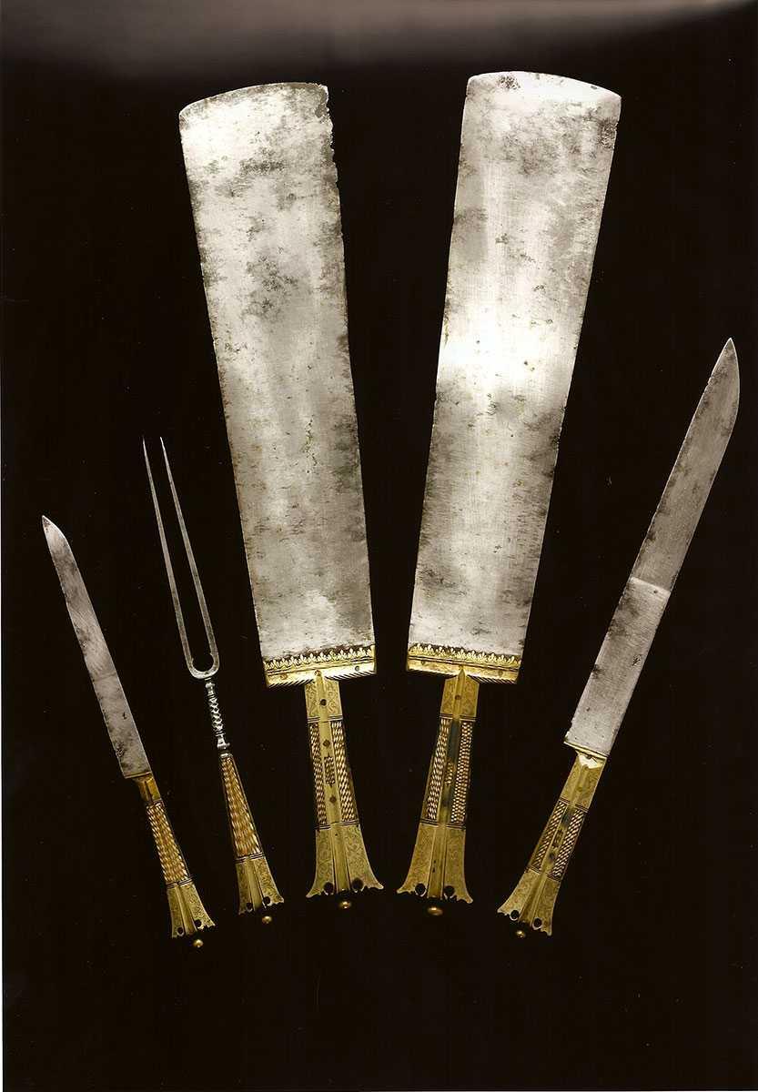 Fuggersches Jagdbesteck, um 1540