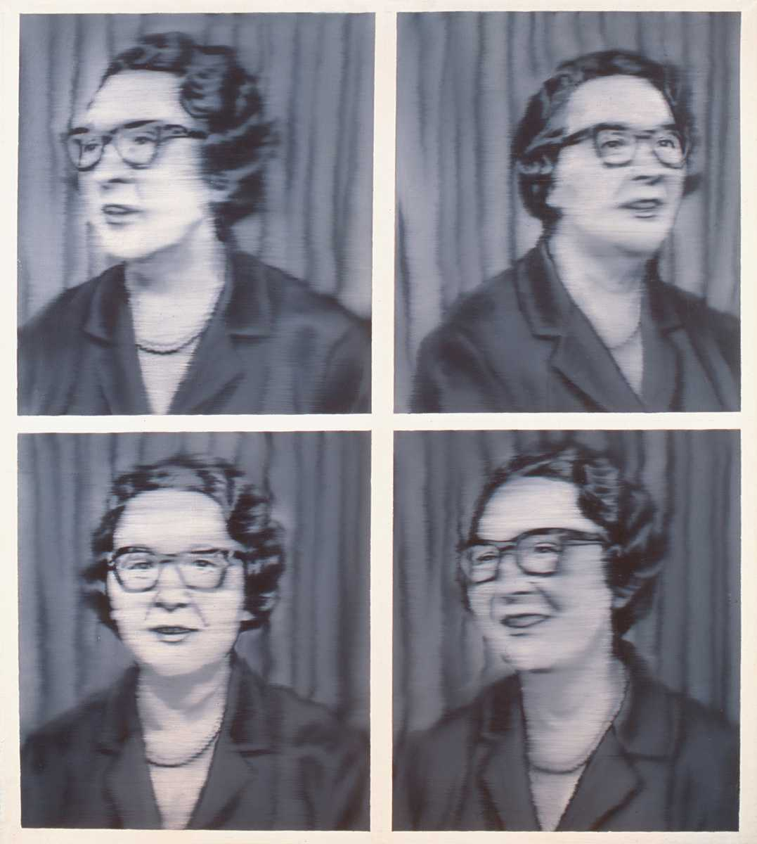 Gerhard Richter: Portrait Dr. Knobloch, 1964