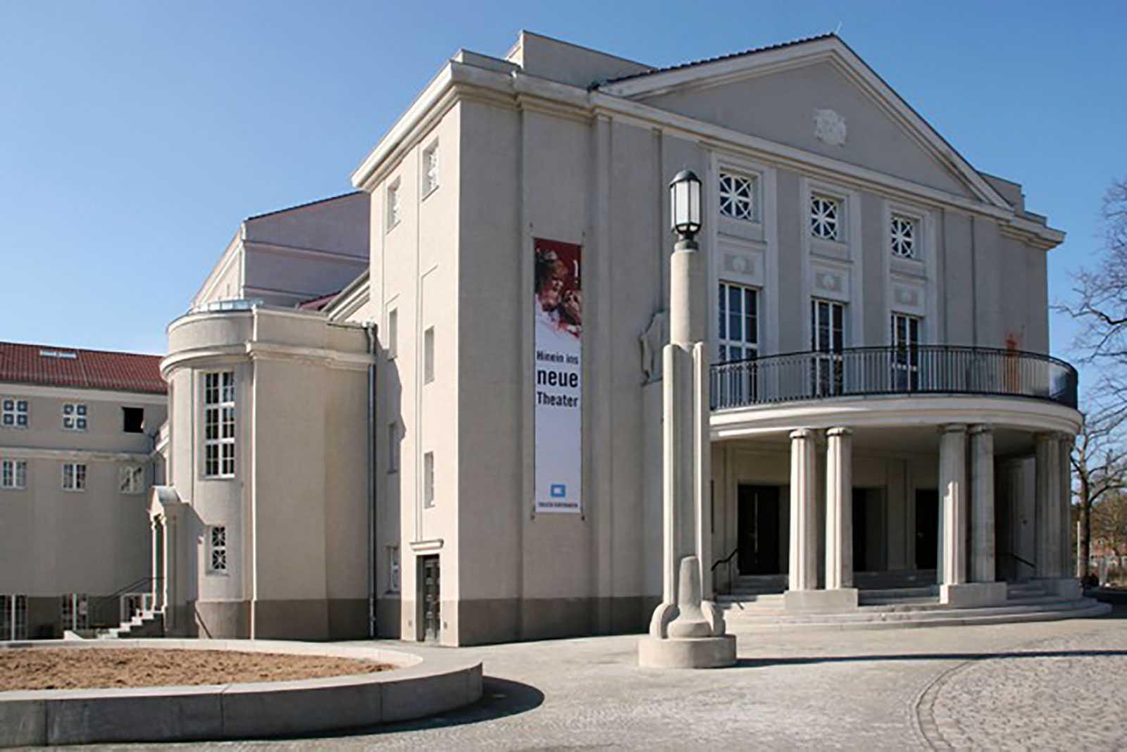 Das Theater Vorpommern Stralsund