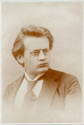 Max Reger, 1895, Bildnachweis: Max-Reger-Institut Karlsruhe