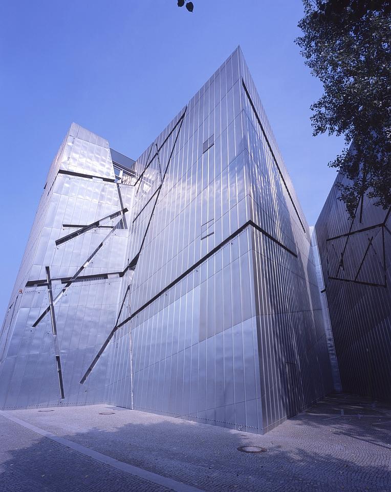 Außenansicht Jüdisches Museum Berlin, Fassade Libeskind-Bau © Jüdisches Museum Berlin, Foto: Jens Ziehe