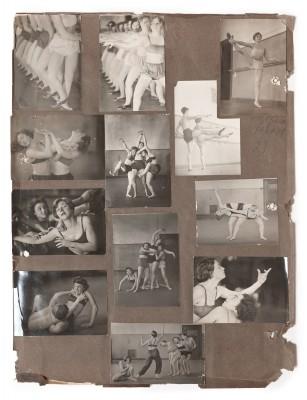 Momentaufnahmen aus dem Unterricht an der Folkwangschule, um 1928 © Deutsches Tanzarchiv Köln