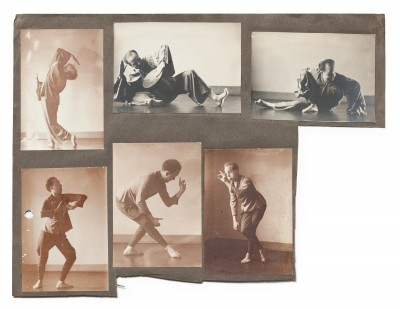 """Impressionen aus dem Programm """"Zwei Tänzer"""" von Kurt Jooss und Sigurd Leeder © Deutsches Tanzarchiv Köln"""