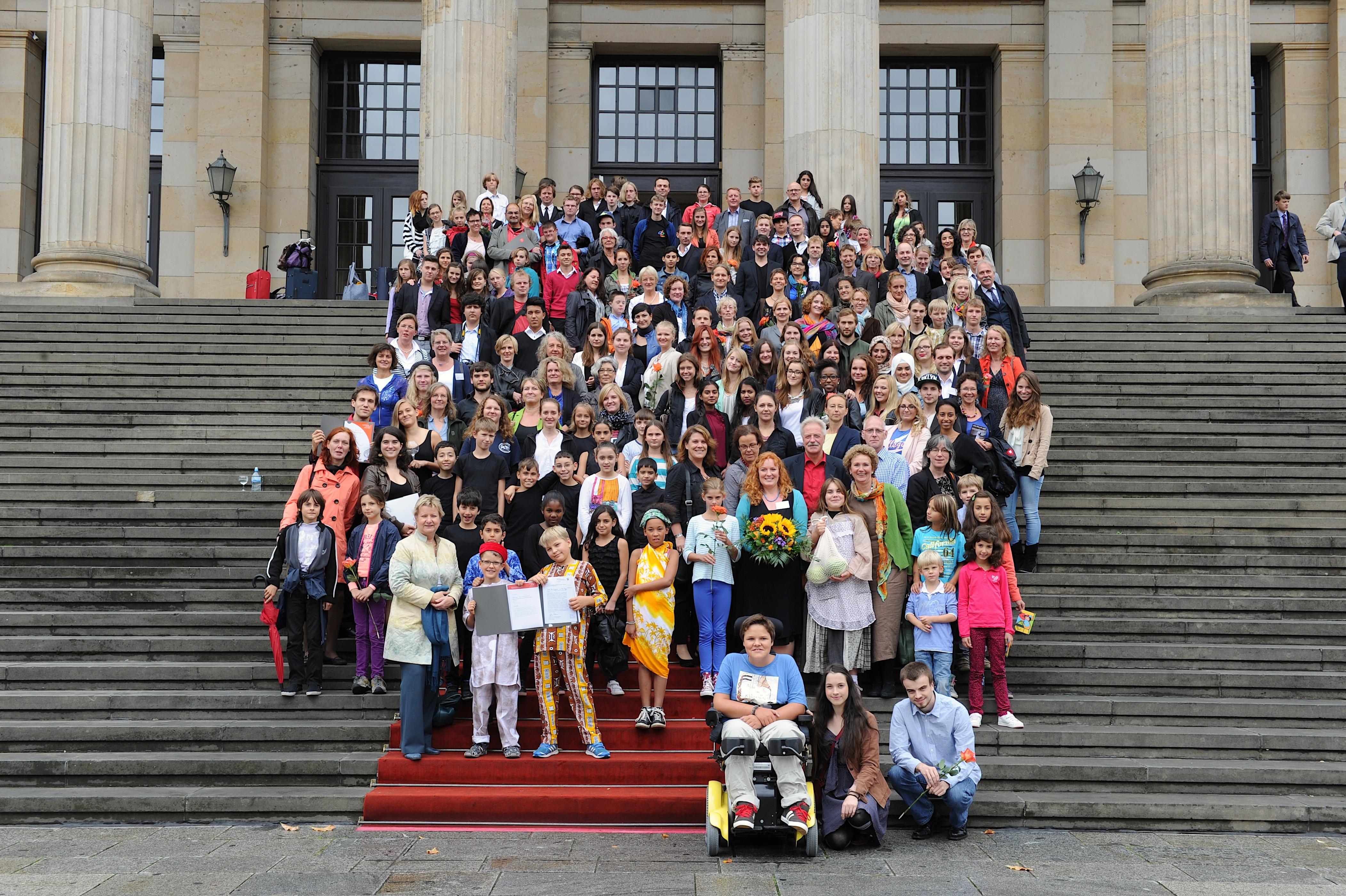 """Berlin , 09.09.2013 , Konzerthaus Berlin , Preisverleihung des Wettbewerbes """"Kinder zum Olymp 2013"""" der Kulturstiftung der Länder , Foto: Stefan Gloede"""