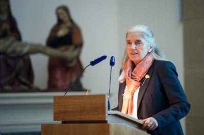 Isabel Pfeiffer-Poensgen (Generalsekretärin der Kulturstiftung der Länder) eröffnet die Festveranstaltung 10 Jahre Deutsch-Russischer Museumsdialog © Stefan Gloede