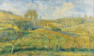 Camille Pissarro, Märzsonne, 1875