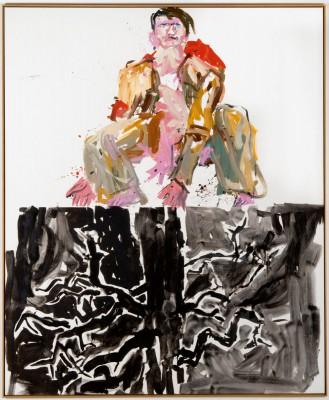 Georg Baselitz, Ein moderner Maler (Remix), 2007, Berlinische Galerie, Berlin
