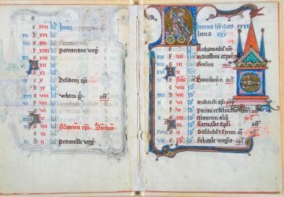 enderblatt zum Monat Juni, Zustand vor dem Einsturz des Archivs (Historisches Archiv der Stadt Köln, Best. 7020 (W*) 406)