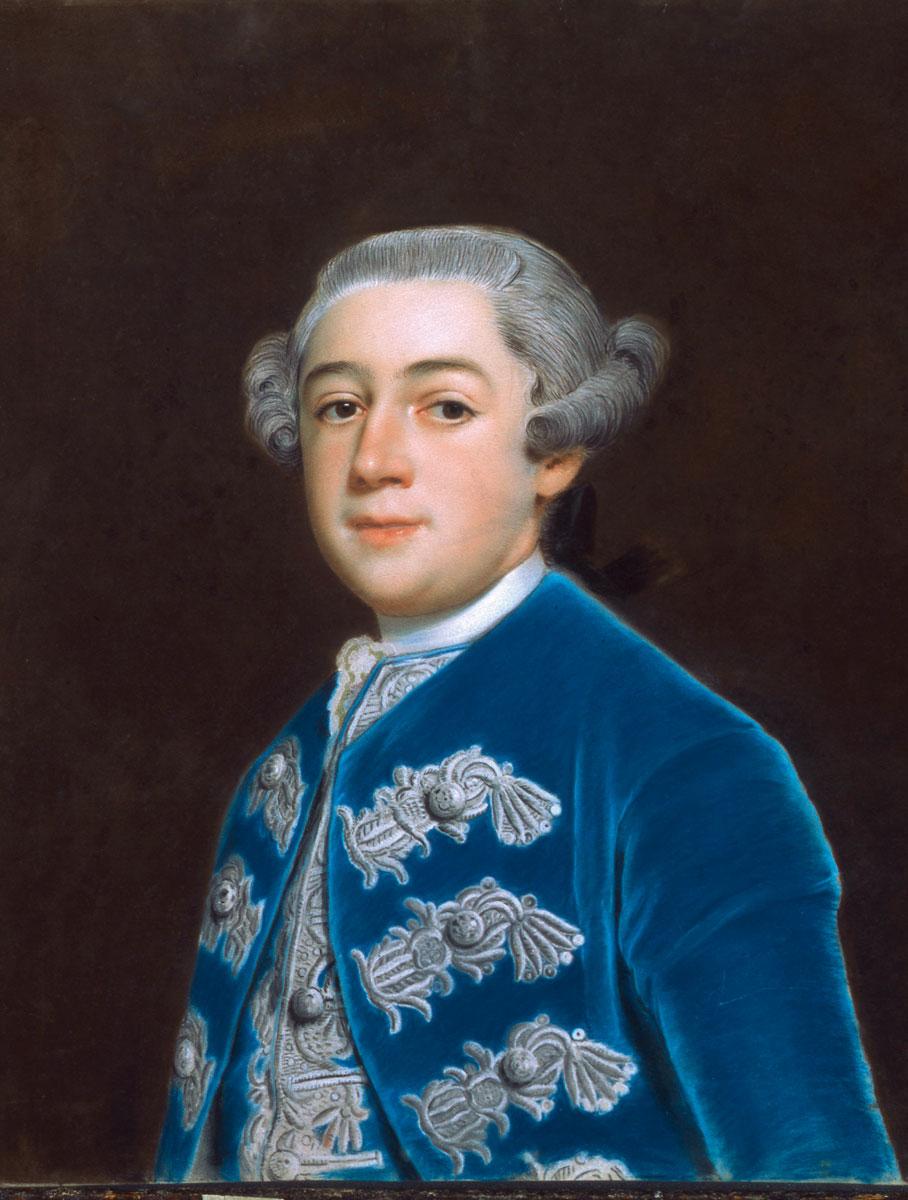 Christoph Friedrich Reinhold Lisiewsky, Leopold Friedrich Franz von Anhalt-Dessau, um 1758