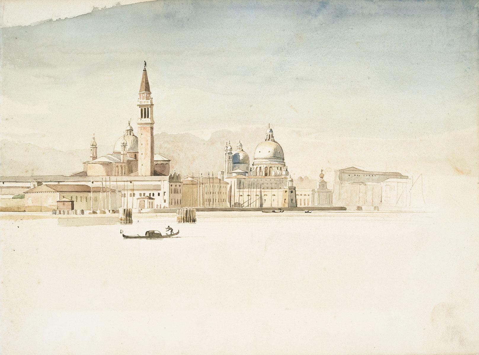 Friedrich Nerly, Venezianische Vedute, ca. 1837