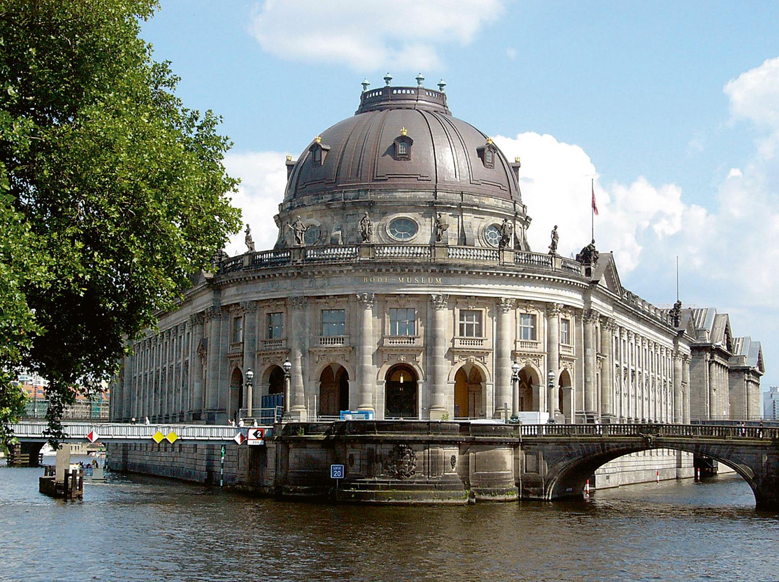 Das 2006 wiedereröffnete Bode-Museum auf der Berliner Museumsinsel