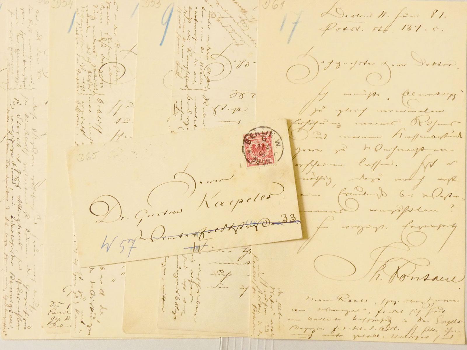 Theodor Fontane, Briefe an den Redakteur und Literaturhistoriker Gustav Karpeles, 1879–1890