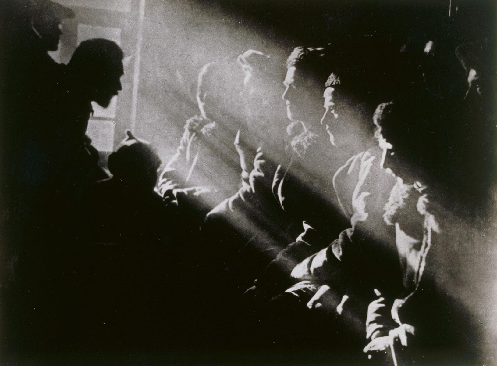 Georgij Anatol'ewitsch Sel'ma, Versammlung der Kolchose in Tula, 1929