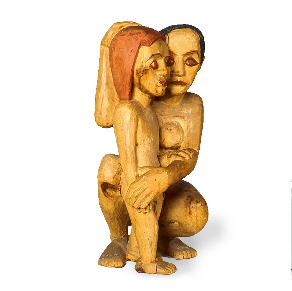 Hermann Scherer, Das kleine Mädchen, 1924/25 – erworben 2004 von der Pfalzgalerie Kaiserslautern mit Hilfe der Kulturstiftung der Länder