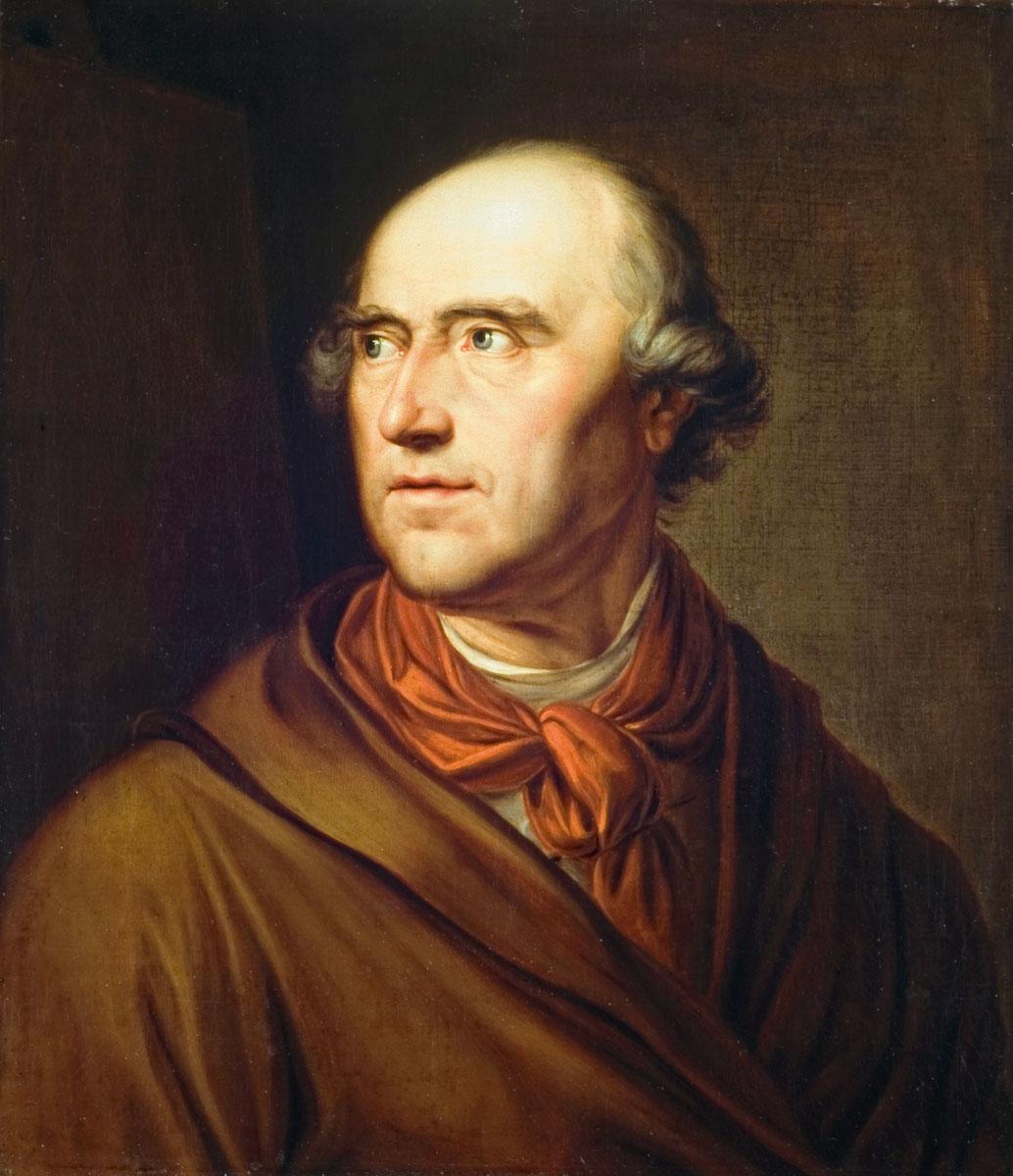 Friedrich Georg Weitsch, Porträt Pascha Johann Friedrich Weitsch, um 1790