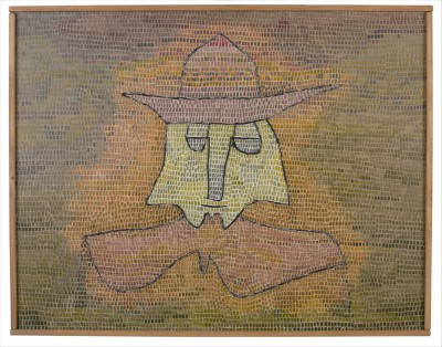 Paul Klee, Pastor Kohl, 1932, Öl auf Nessel auf Sperrholz, 50 x 65 cm, Sammlung Moderne Kunst in der Pinakothek der Moderne © Bayerische Staatsgemäldesammlungen München, Pinakothek der Moderne