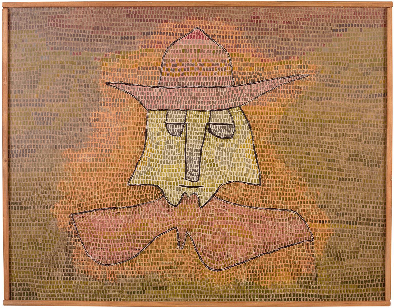Paul Klee, Pastor Kohl, 1932, 50×65 cm; Pinakothek der Moderne, München © Bayerische Staatsgemäldesammlungen München, Pinakothek der Moderne