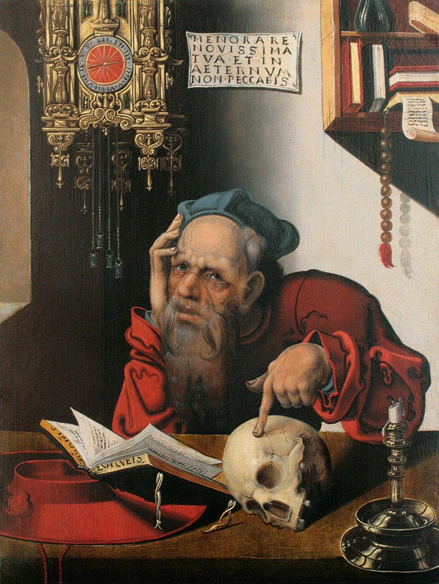 Aus der Schule des Joos van Cleve, Heiliger Hieronymus im Gehäuse, um 1510, 38,4×29 cm; Museum Kurhaus Kleve © Annegret Gossens, Kleve 2015