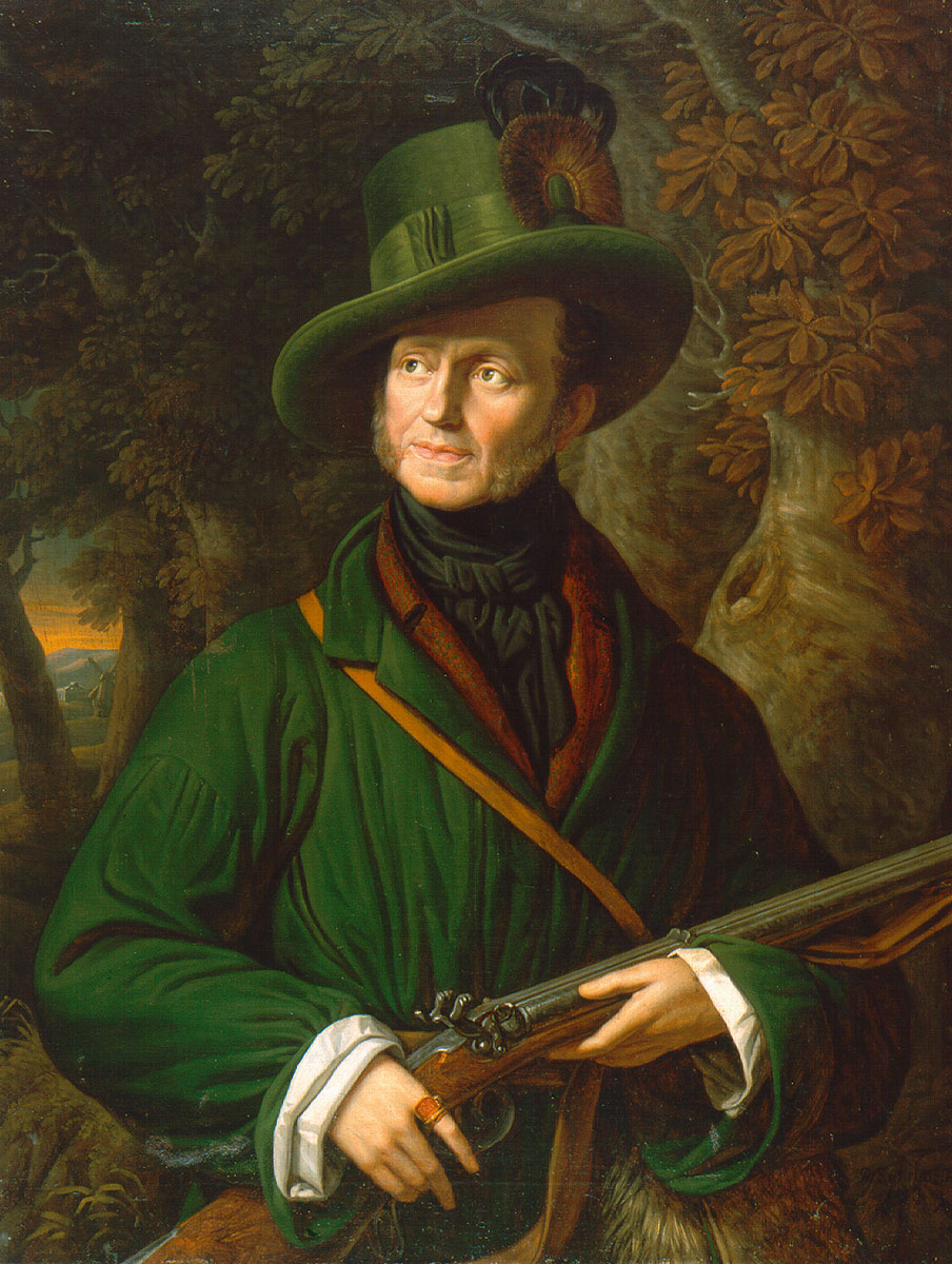 Rudolf Suhrlandt, Herzog Gustav von Mecklenburg, 1839, 96×74 cm © Schloss Ludwigslust Staatliches Museum Schwerin / Foto: Gabriele Bröcker